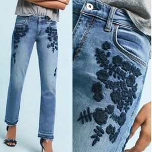 Pilcro embroidered jeans